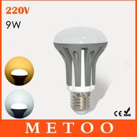 Dimming LED bulb E27 220V 9W led Spotlight Bulb Lamps High bright SMD 2835 led lighting 1pcs/lot