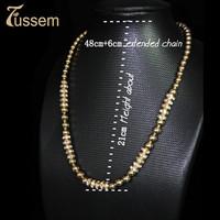 FUSSEM Casual Luxury Bright Gold Bracelet To Send His Girlfriend Love Token