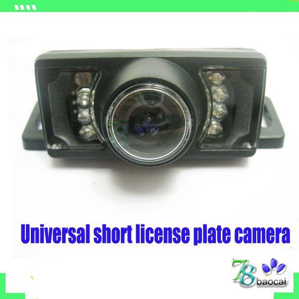Reverse camera car Short License rear view camera backup reverse parking camera Automobile parking assistance system(China (Mainland))
