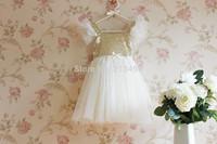 Free shipping ! Girls sweet sequins tutu dress , dresses baby girl , 5pcs/lot