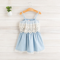 Baby girls new summer children lace dresses  EJ404DS-13FC