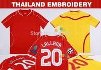 Top Quality 2015 Balotelli Markovic Soccer Jerseys Sturridge Sterling Skrtel 14 15 Red Football Uniforms Thai Shirts Embroidery