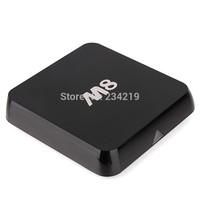 wholesale 10pcs a lot Android kitkat TV box EM8 M8  Amlogic S802 quad core Bluetooth 2.4G/5G  4k2K DOLBY TrueHD DTS xbmc 13 DHL