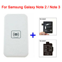 New Arrival MC-02 Wireless Charger Transmitter  + Charger Receiver for Samsung Galaxy Note 2 N7100 N7102 Note 3 N9000