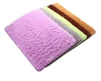 New Brand 2014 Plush Velvet Slip Mats/Desginer Candy Color Dust Doormat/Soft Absorbent Bathroom Warm Floor Washable Mats