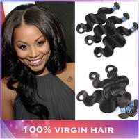 Malaysian Body Wave 3pcs lot 300g Malaysian Hair 5A Unprocessed Malaysian Virgin Hair Body Wave Weaves Modern Show Hair Products