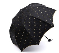 Sunshade Fashion Umbrella Folding Sun Protection Umbrella Free shipping