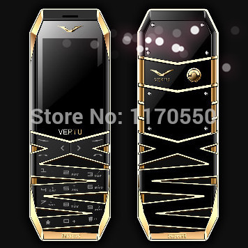 Free Shipping Luxury Cell Phone Hollow Out Luxurious Mobile Phone D19 Support Single SIM MP3 FM(China (Mainland))