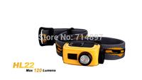 brand new Original Fenix HL22 Cree XP-E R4 LED 120 lumens 4 mode headlamp / head light  1*AA  free shipping
