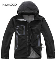 Free Shipping 2014 Fashion Brand Men's Fleece Apex Bionic Windstopper Softshell Jacket Winter Windbreaker Coats