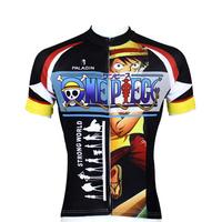Hot sale One Piece  Anime Cycling Jersey Bike Shirt men and women top cycling cothing