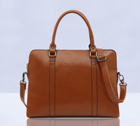 2014 women's Genuine leather handbag big bag fashion briefcase commercial genuine leather handbags laptop bags