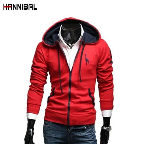 2014 New Arrival Fashion Brand Men's Deer Embroidery Logo Men's Sports Hoodies Sweatshirt,Quality Novelity Men's Hooded Coats(China (Mainland))