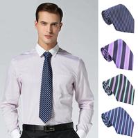 Free shipping 8cm fashion tie for men nekctie stripe man new brand neck tie  wholesale men accessories