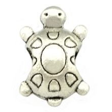 2014 New Arrival 925 Silver Tortoise Bead,European Beads Fits pandora Charm Bracelets necklaces & pendants,SPB019