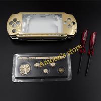 8 Colors Full housing kit shell cover case for PSP 1000 + +2 Screwdrivers