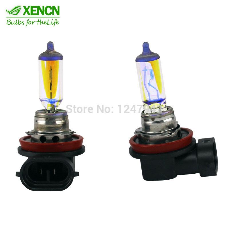 New XENCN H11 12V 55W 2300K Golden Eyes Automotive Super Yellow Light Halogen Car Bulbs OEM Germany Fog Lamp Free Shipping 2PCS(China (Mainland))