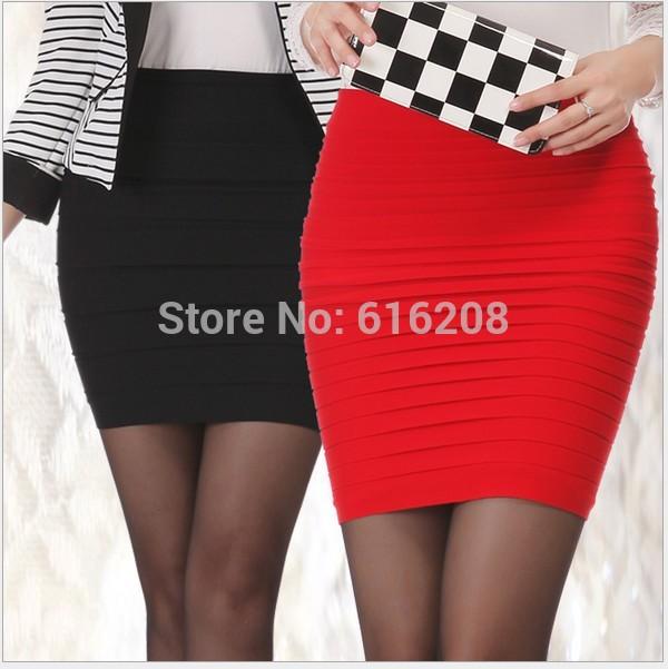 1pcs 2014 Fashion Women Girls' Mini Short Skirts Tight hip pack Skirt Waist Skirt Free Size(China (Mainland))