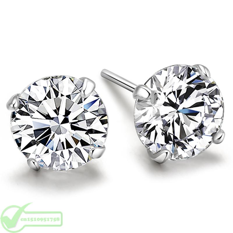 line Get Cheap Real Diamond Earrings for Men Aliexpress