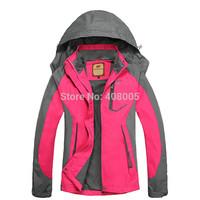 2014 New Design Camel or Camdyztop Brand Spring Autumn Jackets Women Sports Outdoors Jacket Hiking Climbing Jacket  M-XXXL