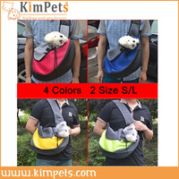 High Quality Fast & Free Shipping 2014 New Arrival  Pet Dog Carrier Bags  shoulder style sandwich Bag 4 colors 2 size  CH0271