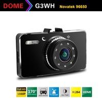 "Car Camera DM880 Novatek 96650 Full HD 1080P 30FPS+G-Sensor + 2.7"" LCD Car DVR Recorder+HDMI+H.264 Video Recorder Dash Cam"