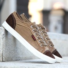 2014 new casual shoes, vulcanized canvas shoes men shoes to help low shipping spring and autumn fashion breathable comfort(China (Mainland))