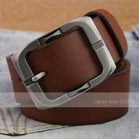 Mens Belts Luxury New 2014 Brand Genuine Leather Belt Cow Split Good Quality Alloy Pin Buckle Business Trouser Belts for Men