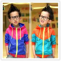 2014 new spring models of child Korean boy cardigan coat baby boy jacket sun protection clothing wholesale children's clothing