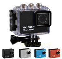Full HD AT200 Go Pro Cameras 1080P Underwater Mini DV Waterproof Video camera control Diving watch update model of SJ4000