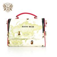 Danny Bear Printing fashion women handbags Tote Bag messenger bags shoulder bags db13615-23