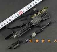Brand: Soldier Story, 1/6 M249 Machine gun of the U.S. Army,metal gun body, a full set of SUPERIA