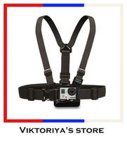 Gopro Strap Harness Adjustable Elastic Gopro Belt Chest Strap Mount for Gopro Camera Hero 3 2/SJ4000 Accessories Black Edition