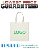 Factory wholesale custom canvas bag 100% high quality organic cotton canvas fabric printing customized canvas tote bag