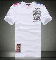 Black White  High quality  hot fashion casual men 100% cotton  short sleeve Shark t-shirt M L XL XXL XXXL XXXXL O neck