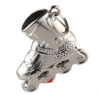 Keychain with SEBA Roller Skating Pendant, Freeshipping KSJ Freestyle Inline Skates Jewellery