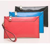 Ladies Fashion Evening Clutch Bag Oil Wax Genuine Cow Leather Clutch Wallet Women  Fashion coin purse,CN-1367