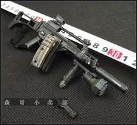 1/6 BBI producer, German SWAT G36 complete machine model, ornamental collection