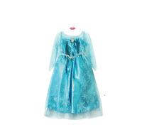 New girls dress Movie Cosplay Costume Princess Elsa Dress for Children,birthday dress girls Ana Dress party clothes