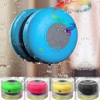 Mini Portable HIFI Waterproof Wireless Bluetooth Handsfree Mic Suction Speaker Shower 5 Colors B003 CB023355