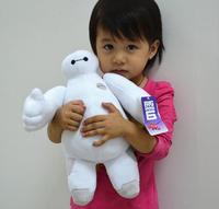 Free shipping super hero big hero6 Baymax Marines plush toys 30 cm doll for children