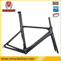 Factory price 2014 Newest full carbon road bike frame/fork/seatpost Di2 BB86 carbon bike frame 50.5/53.5/56.5cm