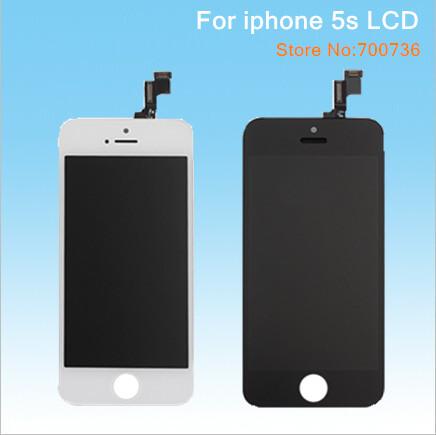 Téléphone mobile lcd pour apple iphone 5s écran lcd de remplacement écran tactile 20pcs/lot dhl livraison gratuite
