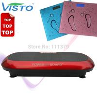 crazy fit massage 2014 venda quente 200W ajuste Vibration Platform louco maquina de massagem da vibracao com body slimmer