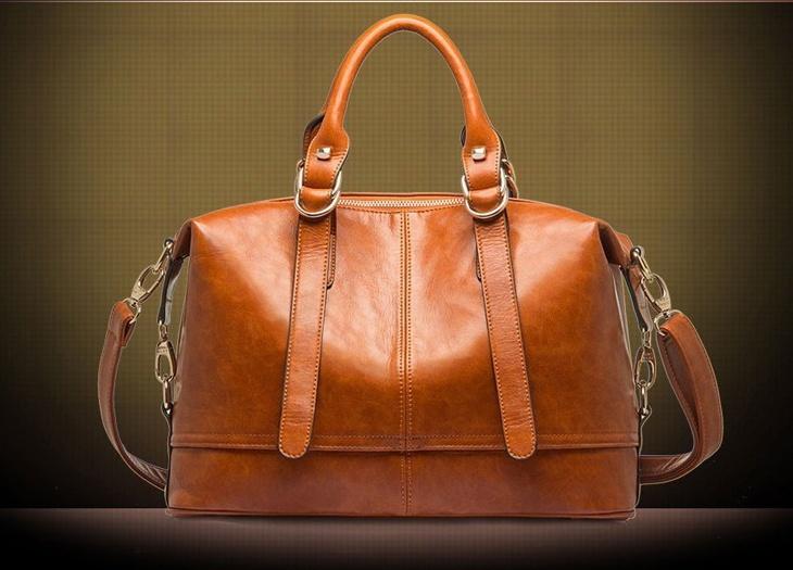 Hot Oil Wax Leather Women Handbag Fashion Shoulder Bags Bolsas Femininas Desigual Women Messenger Bags New Genuine Leather Tote(China (Mainland))