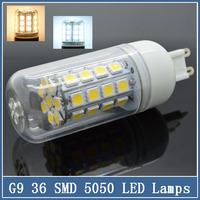 1x Mini G9 LED Lamps 220V 7W/9W/15W SMD 5050 24/30/36 LEDS Corn Bulbs Crystal Spot Light Indoor Lighting Droplight Chandelier