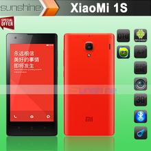 Original Xiaomi Redmi Hongmi 1S Red Rice MSM8228 Quad Core Mobile Phone 4.7″ IPS 1280×720 8.0MP Camera 8GB Rom Android 4.3 WCDMA