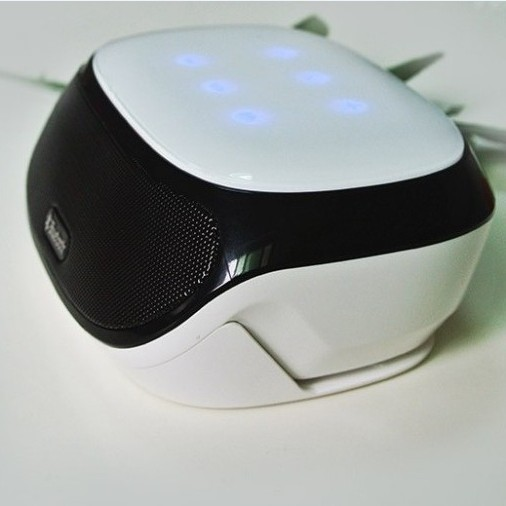 Mini Portable wireless Bluetooth Speaker fm radio double subwoofer loudspeakers mini USB music speakers sound box boombox AJ 81(China (Mainland))