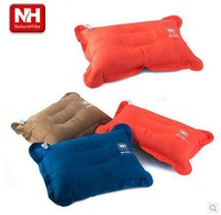 NatureHike-NH 2014 new high quality  travel inflatable pillow anti-slip 3 colors cloth with soft nap mattress