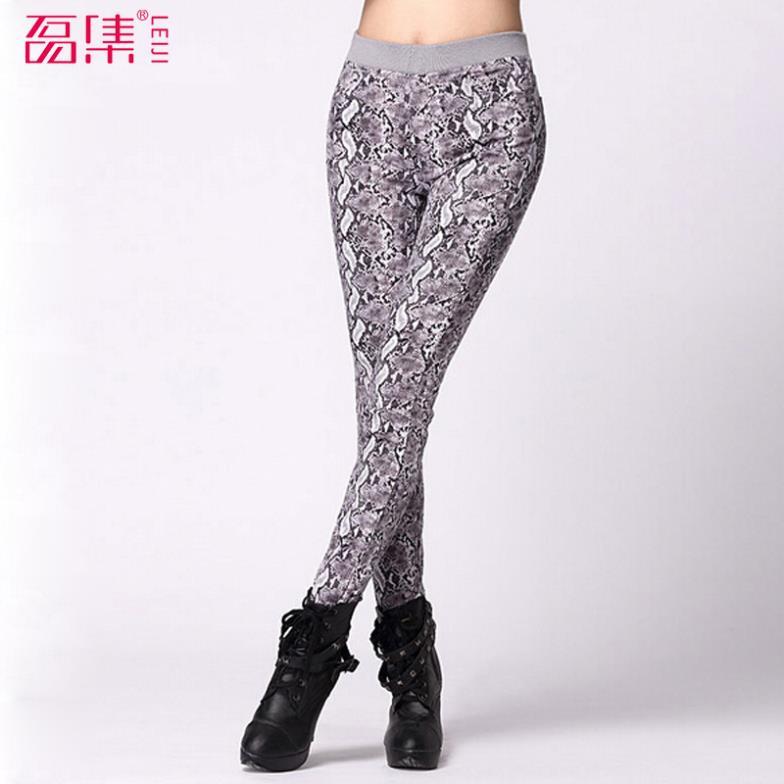 les femmes pantalons leggings des filles livraison gratuite 2014 fil de marque imprimer casual pantalons femme plus taille 3xl 4xl pantalon long pour les femmes